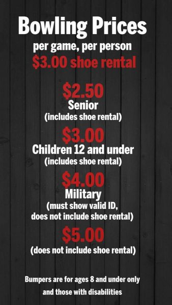 Bowling Pricing
